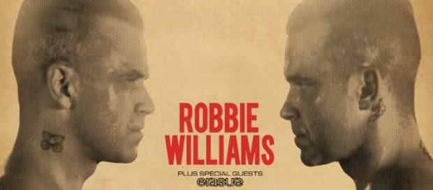 Robbie Williams op zaterdag 8 juli @ Werchter Boutique!