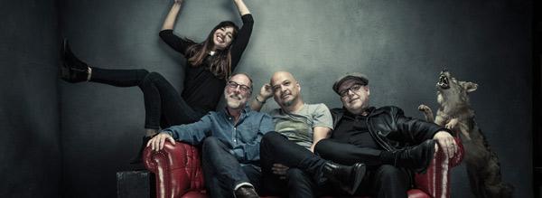 Pixies op vrijdag 4 augustus naar de Grote Kaai @ Lokerse Feesten!