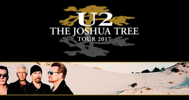 U2 op dinsdag 1 augustus naar Koning Boudewijnstadion!