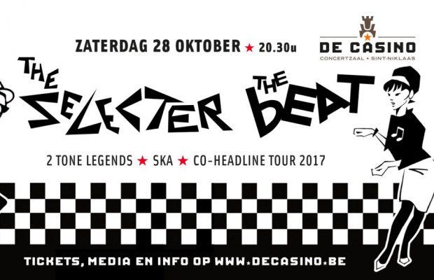 The Selecter & The Beat Co-headline tour op 28 oktober @ De Casino!