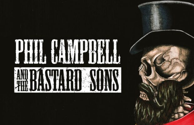 Phil Campbell and the Bastard Sons op 2 maart @ Muziekodroom!