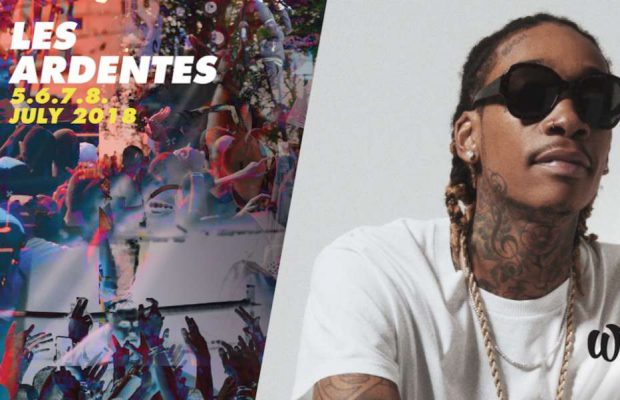 Wiz Khalifa headliner @ Les Ardentes op 6 juli!