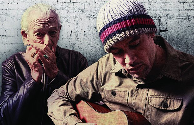 BEN HARPER AND CHARLIE MUSSELWHITE OP 14 APRIL IN LA MADELEINE!