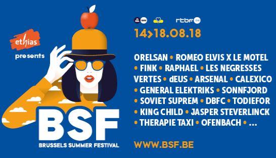 Brussels Summer Festival komt met reeks nieuwe namen!