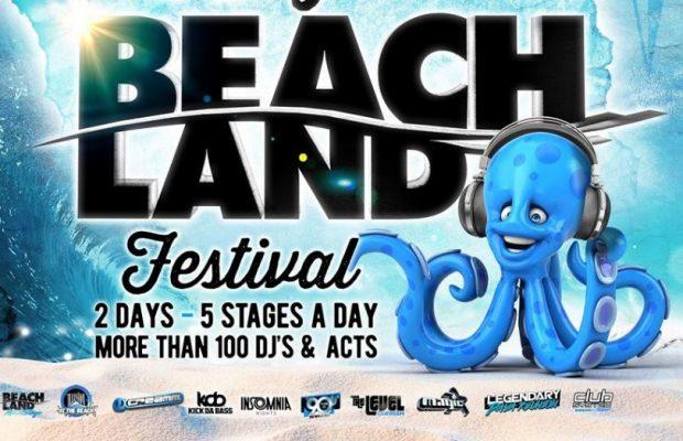 Op  7 en 8 juli puur festivalplezier @ Beachland festival!