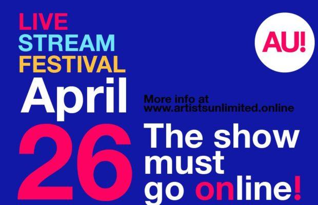 Artists Unlimited lanceert festival via livestream!