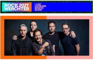 Pearl Jam headliner eerste festivaldag Rock Wechter 2021!