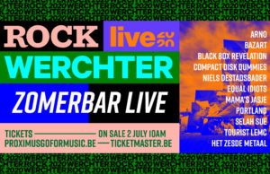 Het zomert geweldige concerten @ zomerbar Werchter!